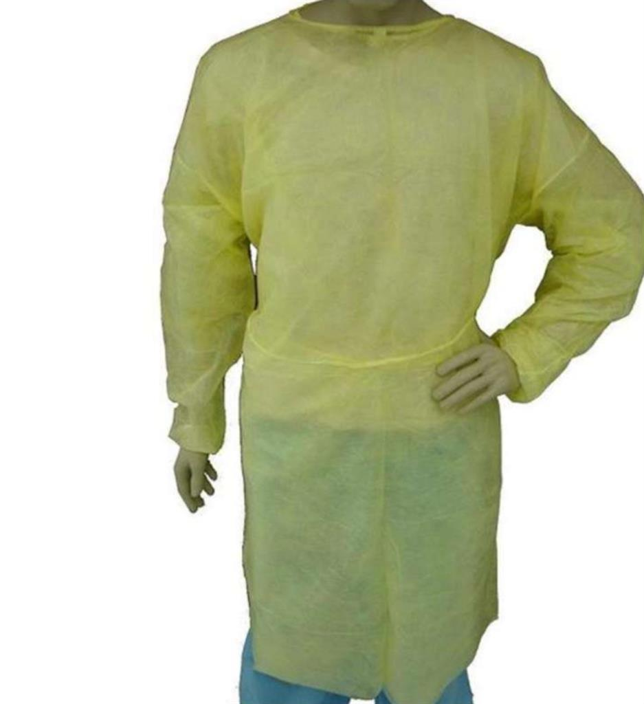 ISOlation Gown, Yellow SPP, EW, 2XL 50/case