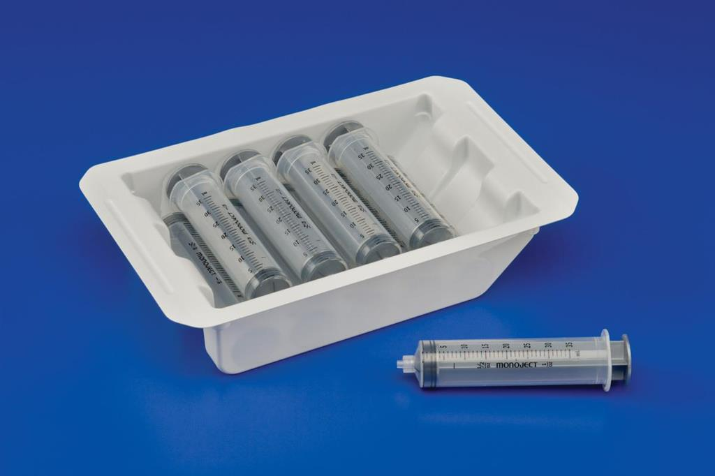 Pharmacy Tray Monoject 20 ml Luer Lock Tip 8/case