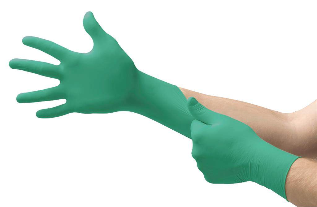 Ultimate Barrier Disposable Nitrile Glove w/Chemical Resistant Technology and Splash Protection, Large, 100EA, 10EA/CS, 1000/CS