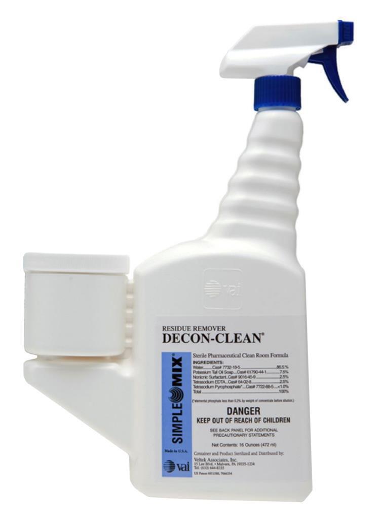 DECON-CYCLE II, 16 oz SimpleMix, Attached Trigger, Use Dilution 1:256, Sterile 12/CS