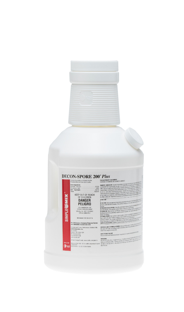 DECON-SPORE 200 Plus SimpleMix 6.4:128, 1 Gal, Sterile, 4/CS