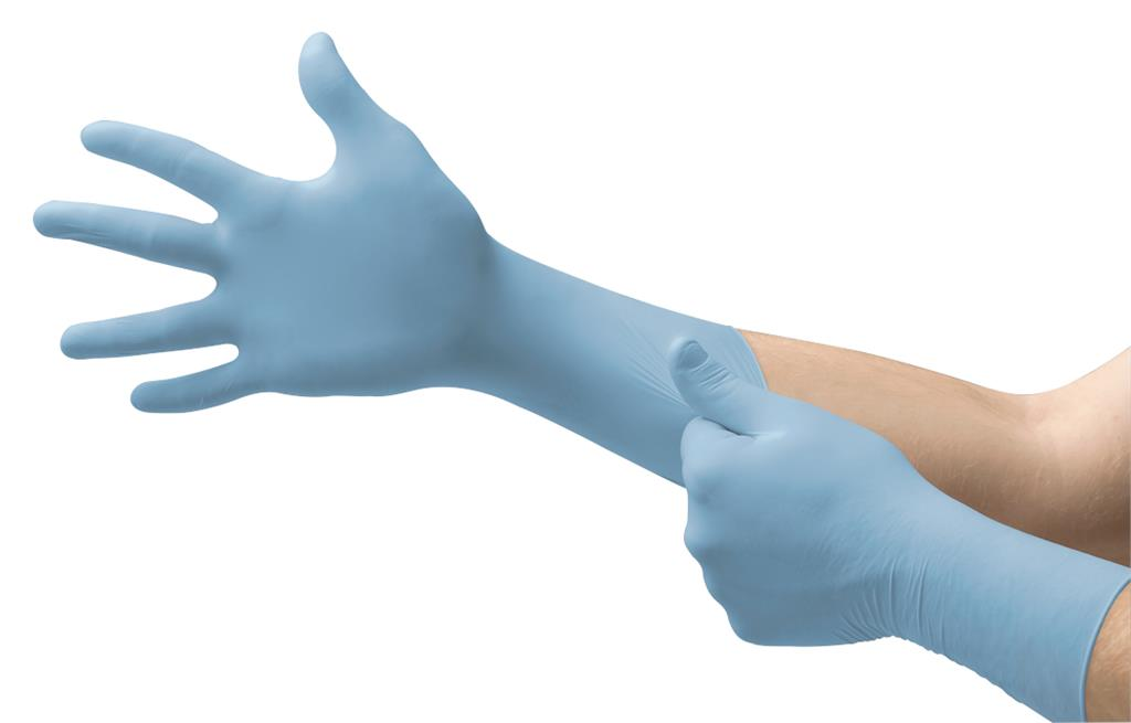 Microflex® Integra® EC N87 Extended, Durable Protection, Nitrile Exam Glove , XXL,  50 Gloves Per Ca