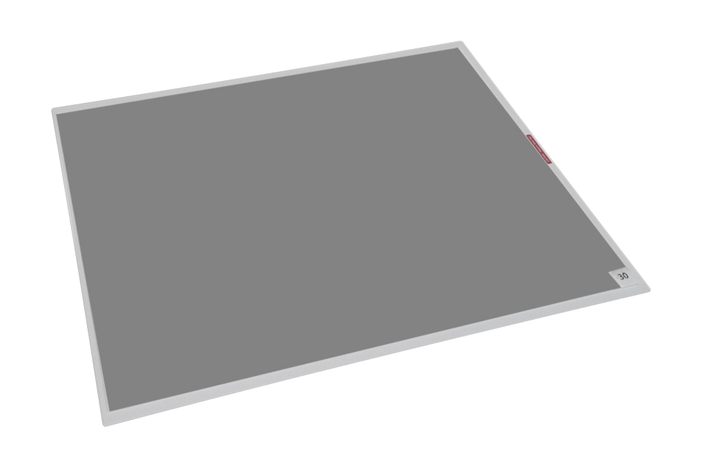 "Tacky Mat Gray Base , Clear Film 18"" x 36"""