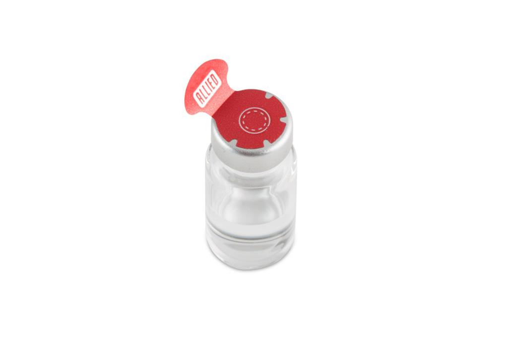 Steri-Tamp 13mm Vial Seals Red 1,000 seals/roll