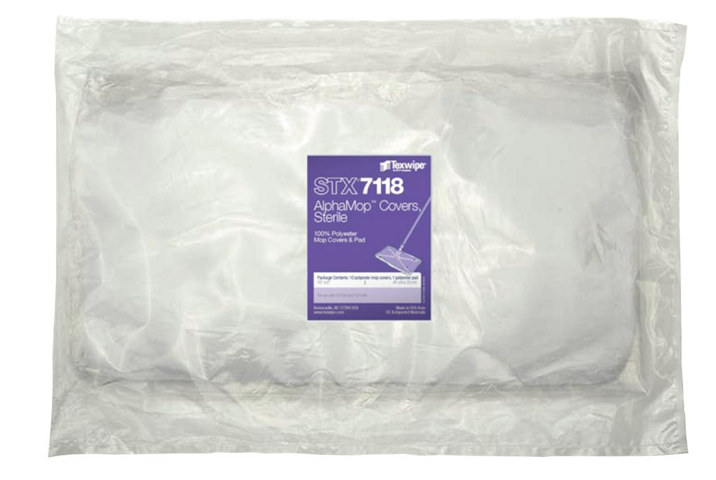 Sterile AlphaMop Replacement Covers For Use With AlphaMop 120/case