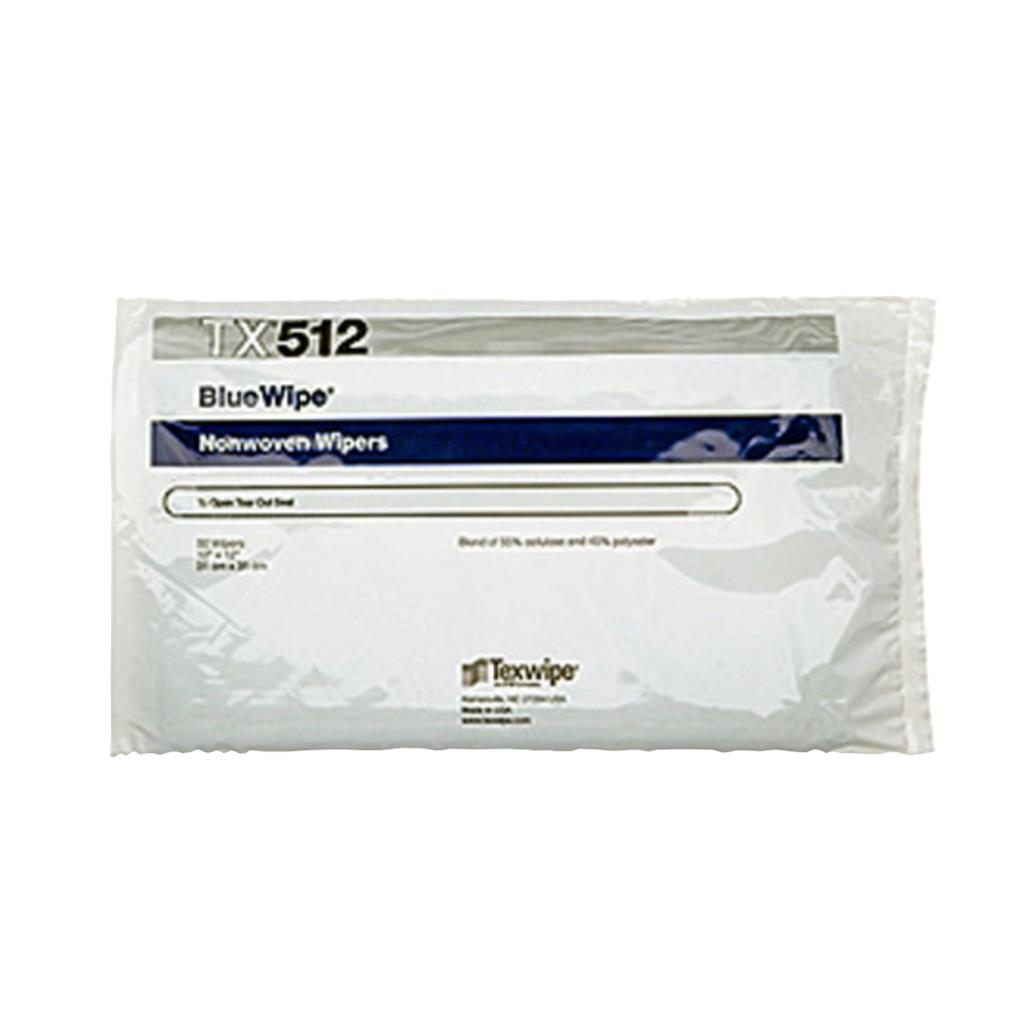 "BlueWipe 12"" x 12"" (31 cm x 31 cm) cellulose/polyester-blend, C-Folded 50 wipers/bag"