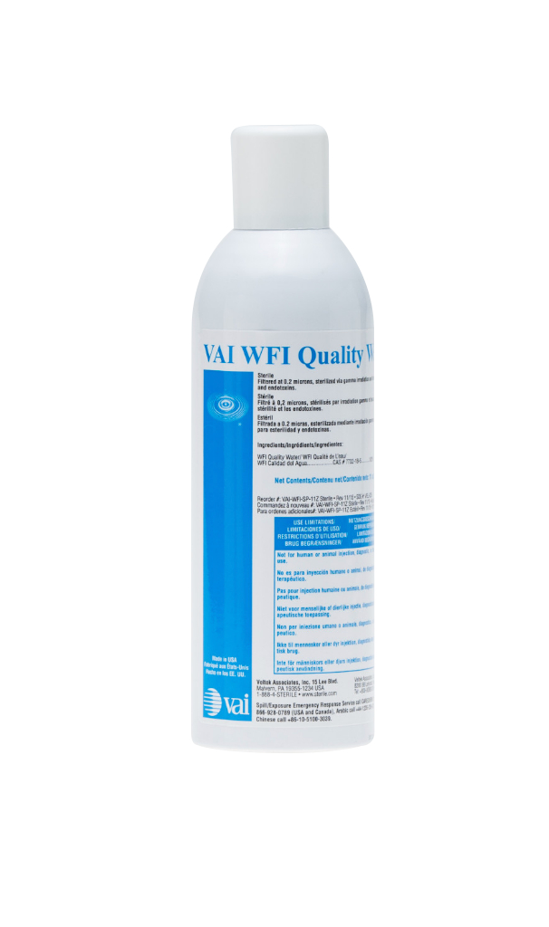 Bulk Water for Injection Grade Quality Qater, 11 oz Aerosol Spray, 12/CS