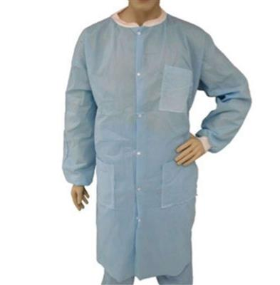 Lab Coat, Blue SMS, KW, KC, 3 PKT, 9X-Large