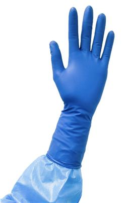 Esteem Chemotherapy Powder-Free Nitrile Exam Gloves w/Extended Cuff, Size Medium, 100/BX 10BX/CS