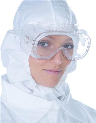 ClearView, Sterile Single Use Goggles, Anti-Fog & Optically Correct, PVC 60/CS