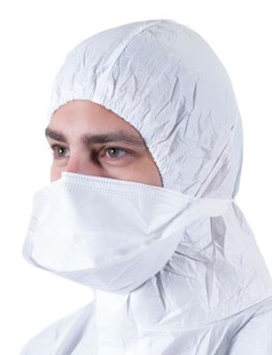 Sterile Pounch Style FaceMask With Neck Guard, Headloop, Gamma Irradiated