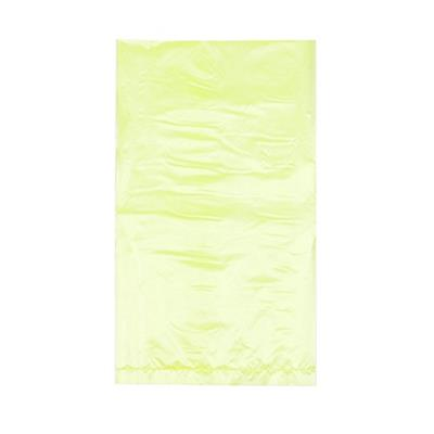 Yellow High Density Polyethylene Merchandise Bag