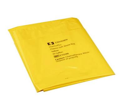 Chemotherapy Waste Bag 20 Gallon 4mil Yellow