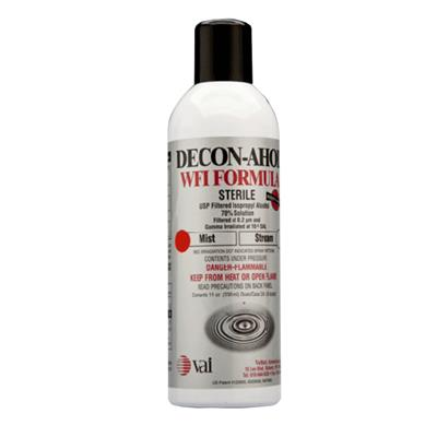 70% USP Isopropyl Alcohol and 30% USP Water for Injection, 11 oz Aerosol Stream, 24/CS