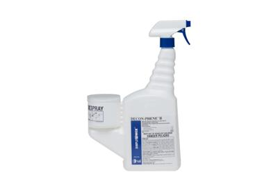 DECON-PHENE II, 16 oz SimpleMix, Attached Trigger, Use Dilution 1:128, Sterile, 12/CS