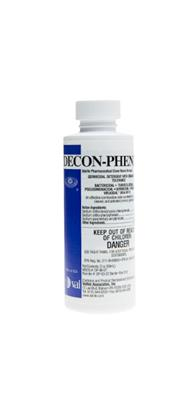 DECON-PHENE Plus, 2 oz Unit Dose Bottle Sterile, 24/CS