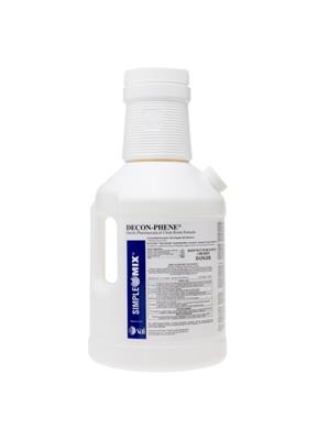 DECON-PHENE Plus, SimpleMix 1:128, 1 Gallon Sterile, 4/CS