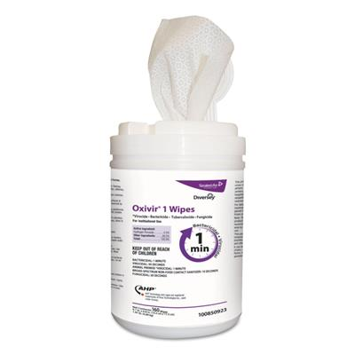 Surface Disinfectant Cleaner Oxivir® 1 Premoistened Wipe 160 Count Canister Disposable Scented