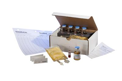 PATT2, Personal Aseptic Technique Test Kit, 3mL Ampules, 20mL Vials, 100mL Partially Filled Minibags, Test Procedure And Results Log. 5 Vials, 5 Bags, 5 Ampules/Kit