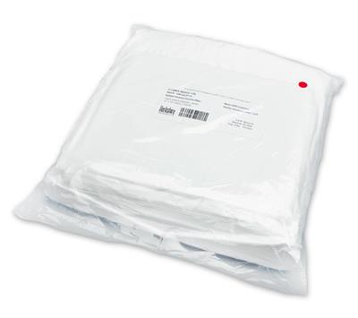 "Gamma Wipe, 120 Sterile Knitted Wiper, Gamma Irradiated, 100% Continuous Filament Polyester, 12""x12"""