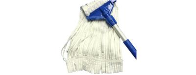 Microfiber String Mop, Edgeless & Looped, 16oz, ISO 4-5, 20/case