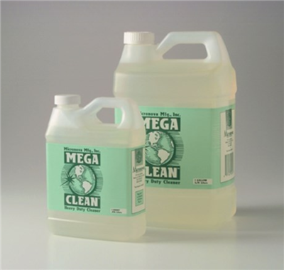 Mega Clean, Heavy Duty Cleaner and Degreaser, Non-flammable , Solvent Free, Alcohol Free,  Filtered