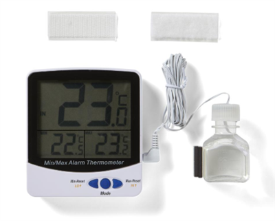 Digital Refrigerator Thermometer  Triple-display (current, min, and max temperature) Thermometer Tha