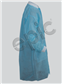 LAB COAT, BLUE SMS, KW, KC, 3 PKT, 5XL 30/case