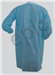 LAB COAT, BLUE SMS, KW, KC, 3 PKT, 6XL