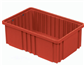"Divider Box, Red, 15"" x 9""x 6"", 8/CS"
